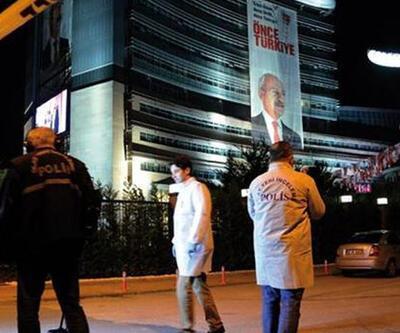 CHP Genel Merkezi önünde havaya ateş açıldı
