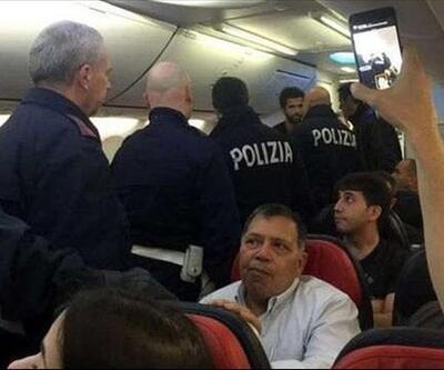 Porto taraftarları THY uçağına acil iniş yaptırdı!