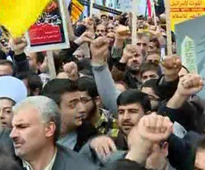 """İran'da """"elçilik işgali""""nin yıldönümü """"ABD'ye ölüm"""" sloganlarıyla kutlandı"""