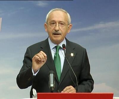 """CHP Genel Başkanı Kılıçdaroğlu: """"AB iki yüzlü davranıyor"""""""