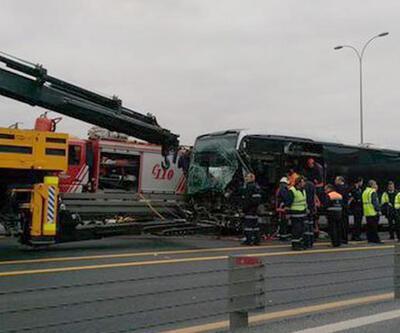 Şirinevler'de metrobüs kazası