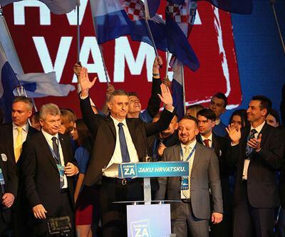 Hırvatistan'da muhafazakarlar kazandı