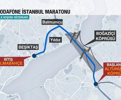 Vodafone 37. İstanbul Maratonu parkurları