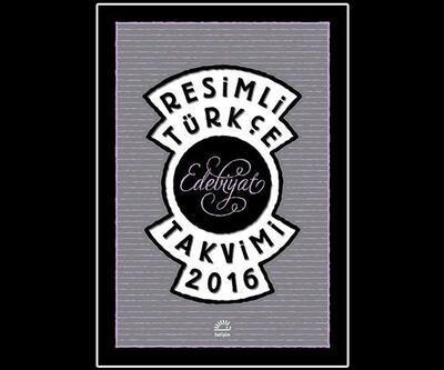 İletişim'den Resimli Türkçe Edebiyat Takvimi