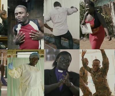 Ebolanın son bulması dansla kutlandı: Güle güle Ebola