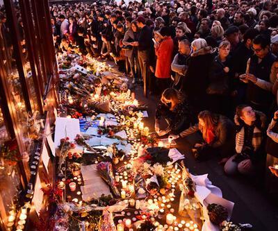 Paris'te anma etkinliği sırasında büyük panik