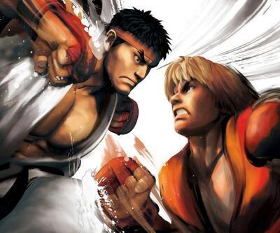 Ryu ve Ken karşı karşıya