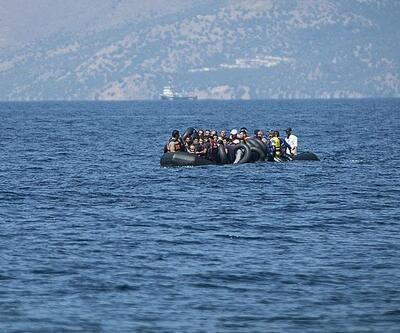 Mültecileri taşıyan bot battı