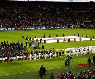 İngiltere- Fransa maçında tarihi anlar