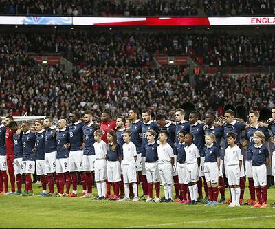 Fotoğraflarla tarihi İngiltere - Fransa maçı