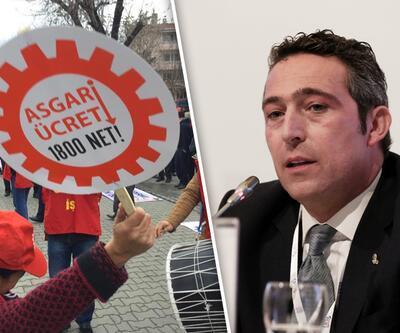 DİSK'ten asgari ücret açıklaması ve Ali Koç'a destek
