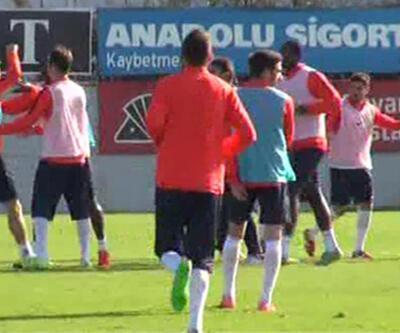 Trabzonspor'da Aykut Demir ile Marko Marin kavga etti