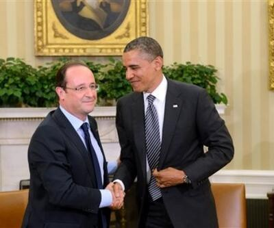 Obama ile Hollande IŞİD'i konuştu