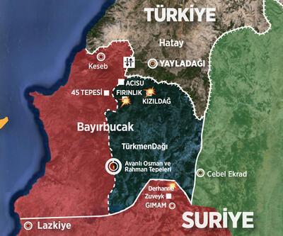 Bayırbucak Türkmen bölgesine saldırılar sürüyor