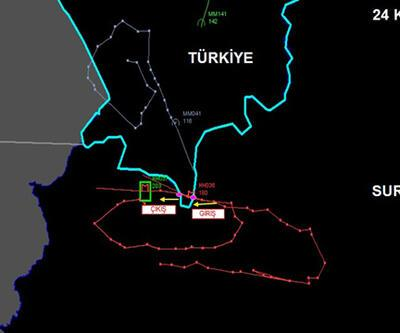 Düşürülen Rus savaş uçağının radar izi analizi