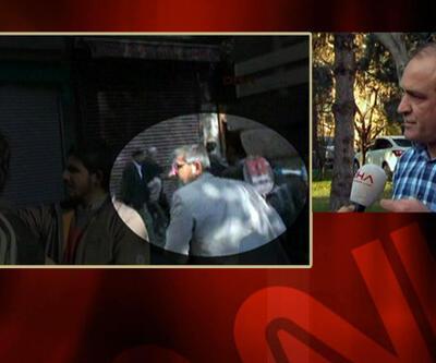 DHA muhabiri olay anını CNN TÜRK'e anlattı
