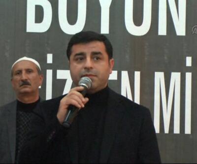 Demirtaş'tan taziye mesajı