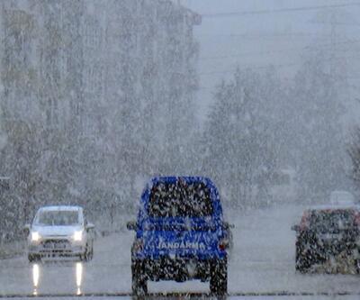 Bolu Dağı ve Ankara beyaza büründü