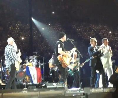 Eagles of Death Metal ve U2'dan Paris dayanışması