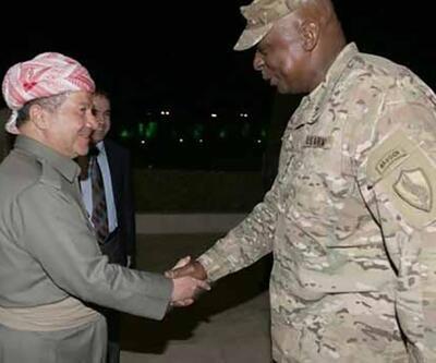 Barzani Ankara ziyareti öncesinde Erbil'de ABD'li general ile görüştü