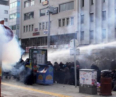 Van'da HDP'lilere biber gazlı müdahale