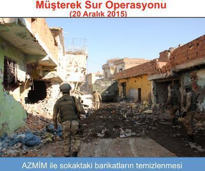 Anadolu Ajansı Sur'daki operasyonun fotoğraflarını yayınladı
