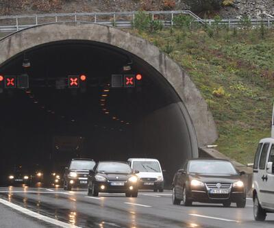 Bolu Dağı Tüneli'nde Ankara-İstanbul istikameti kapatılacak