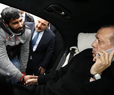 Cumhurbaşkanı Erdoğan Boğaziçi Köprüsü'nde intiharı önledi