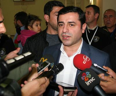 Selahattin Demirtaş Diyarbakır'da işadamlarıyla görüştü