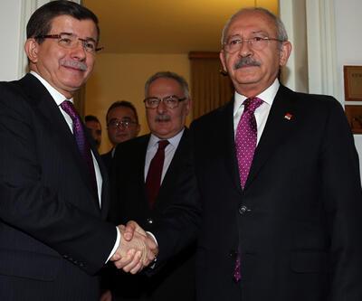 Davutoğlu-Kılıçdaroğlu görüşmesi sona erdi