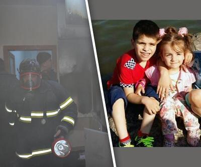 Gaz sobası bir aileyi yok etti