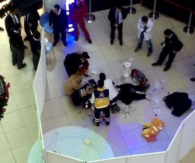 Şişli'de AVM'de feci ölüm