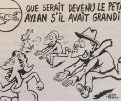 Charlie Hebdo'dan Aylan karikatürü: Tacizci olabilirdi!