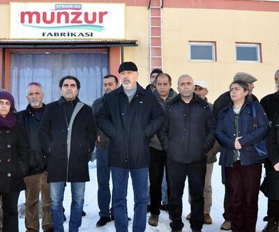 Ovacık'taki Munzur Su Fabrikası'nda üretime yeniden başlandı