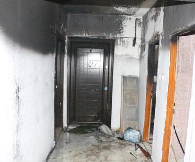 HDP Antalya İl Başkanlığı'nda yangın
