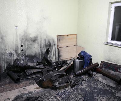 Malatya'da sobaya atılan odun patladı: 7 yaralı
