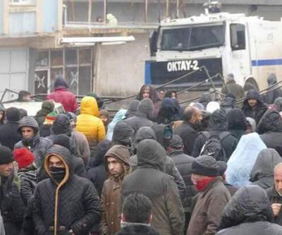 Nusaybin'de müdahale: 90 gözaltı