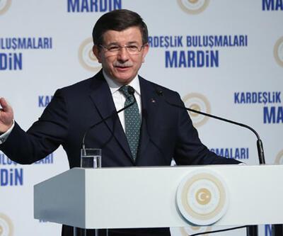 Davutoğlu'dan HDP'li vekillere: ''Kalleşler''