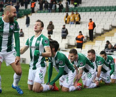 Bursaspor - Medipol Başakşehir: 3-3