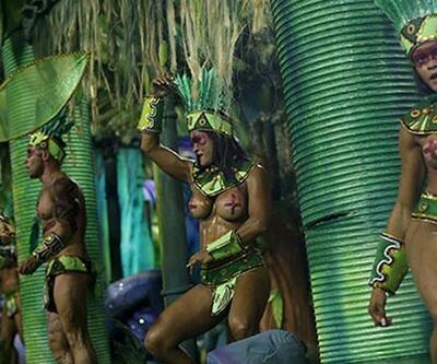 Rio Karnavalı renkli görüntülerle başladı