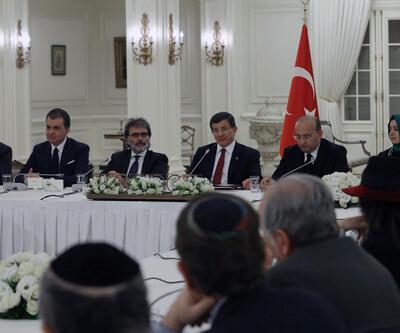 ABD Yahudi dernekleri başkanları Çankaya'da