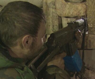 CNN İnternational Suriye ordusunu görüntüledi