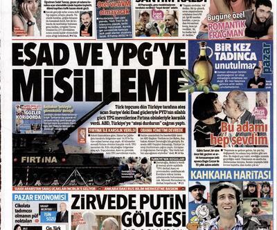 Gazete manşetleri (14.02.2016)