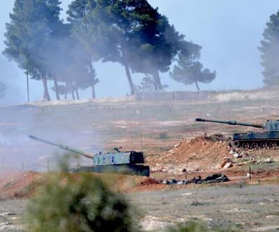 Fırtına obüsleri PYD ve IŞİD bölgelerini vuruyor