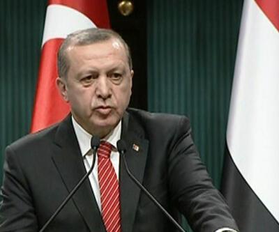 Erdoğan YPG'nin bombalanmasını değerlendirdi