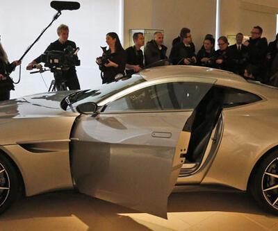James Bond'un arabası 2.4 milyon sterline satıldı