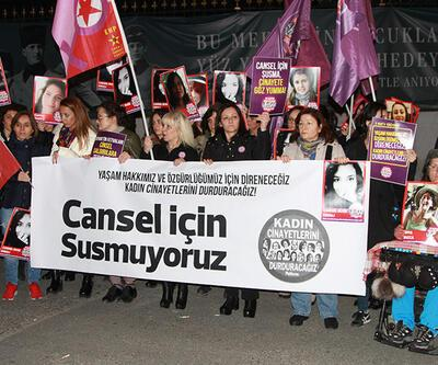 Beyoğlu'nda Cansel Buse için eylem!