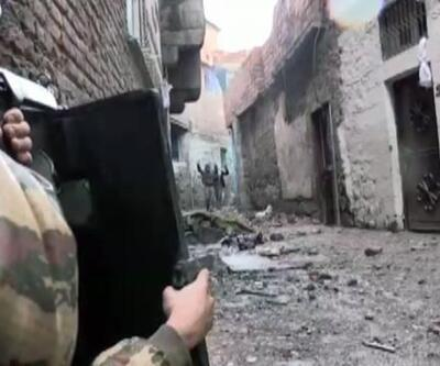 Sur'da çatışmaya giren 3 terörist böyle teslim oldu