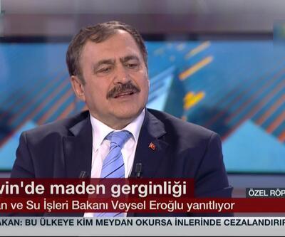 Orman Bakanı Eroğlu Cerattepe sorularını yanıtladı