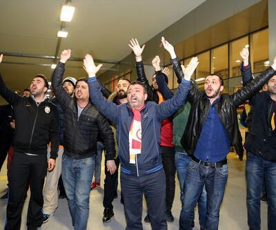Galatasaray İstanbul'da protestoyla karşılandı